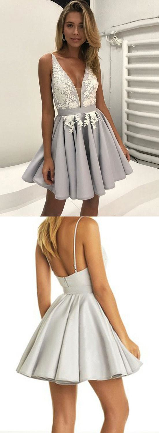 Backless Homecoming Dresses