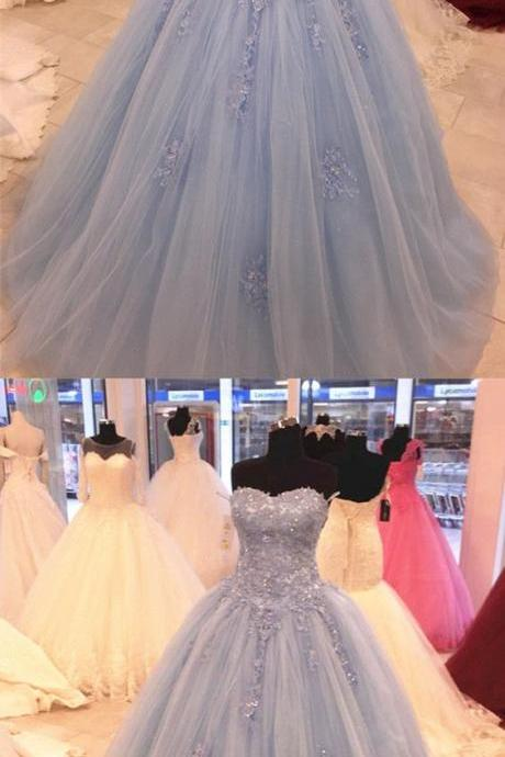 Stylish Lace Sweetheart Tulle Ball Gowns Quinceanera Dresses,Sexy Ball Gown,Fashion Prom Dress,831709