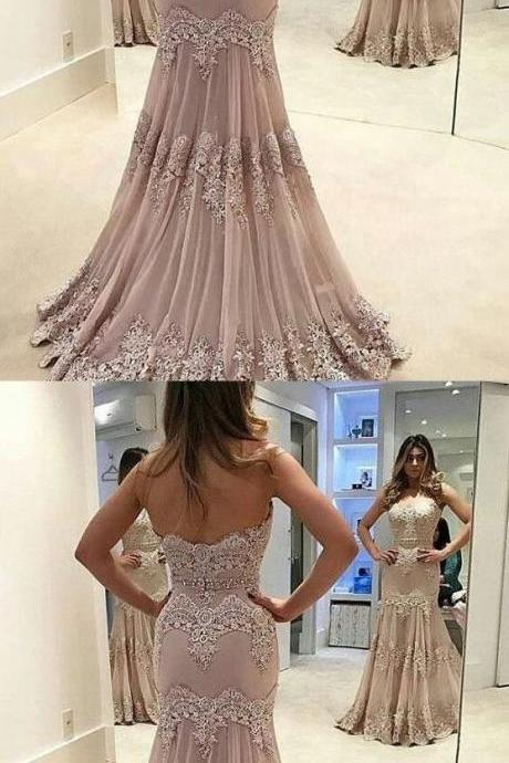Strapless Sweetheart Neck Vintage Lace Mermaid Prom Dress,Party Dresses,Fashion Prom Dress,841001