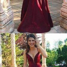 2019 Simple Halter A-line Long Evening Prom Dress,Fashion Prom Dress,8121506