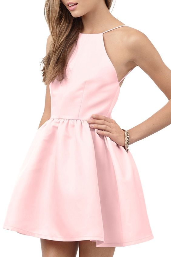 Cute Pink Prom Dress,Lovely Prom Dress,Short Prom Dress,Party Dress ...